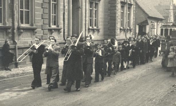 1950 Hochzeit